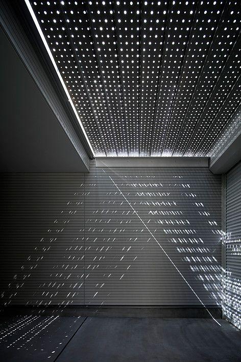 Light Grain, Parking Lot - ycf / Yamashita Yoshiaki Architect & Associates