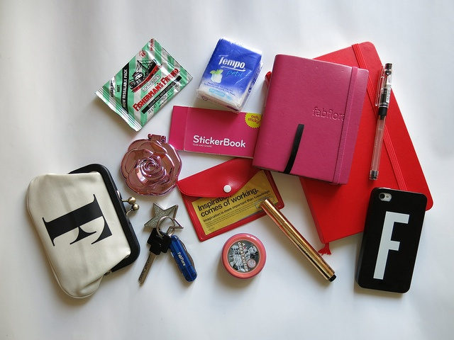what inside my bag by ticticdot, via Flickr