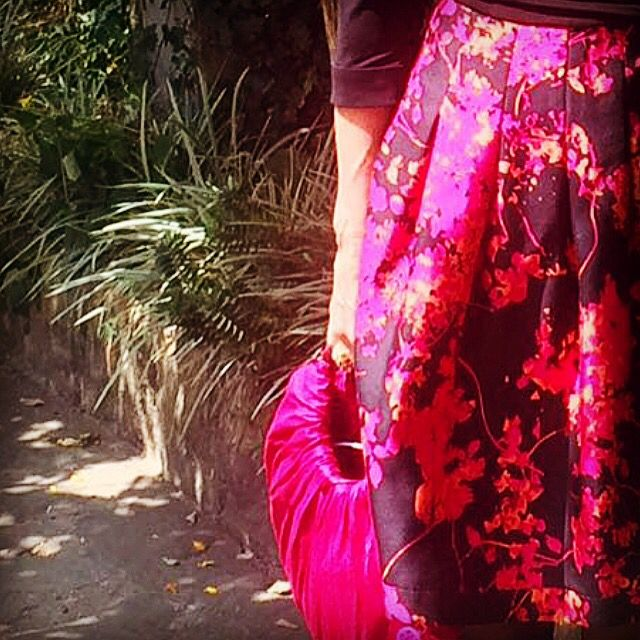 #Pink#2016#rosado#falda#verano