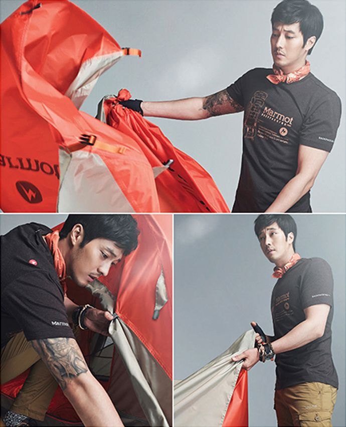 More Of So Ji Sub For Marmot's S/S 2015 Ad Campaign | Couch Kimchi