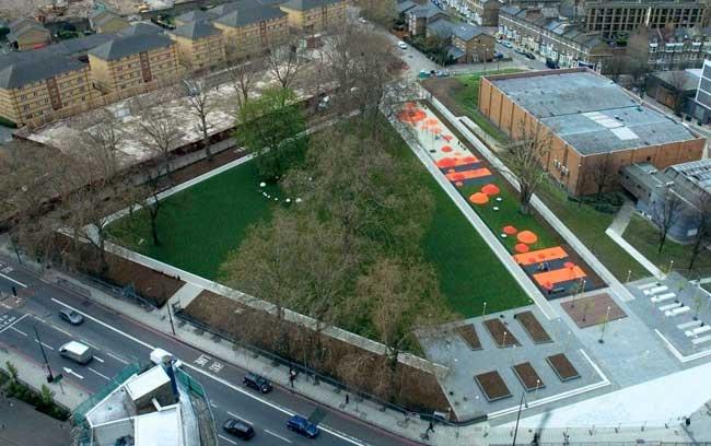 Churchyard Park London Martha Schwartz Partners