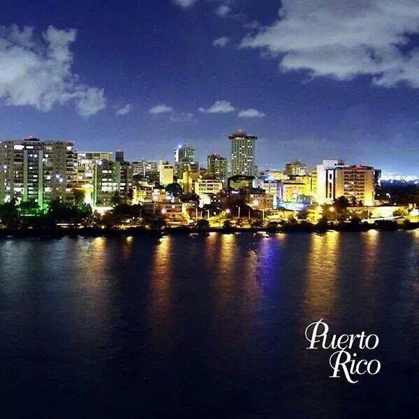 Puerto Rico so beautiful.