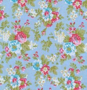 Tanya Whelan Fabric - Delilah - Delilah in Blue <3 <3<3