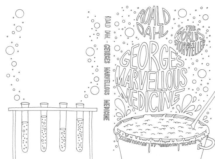 George's Marvelous Medicine Worksheets and Literature Unit