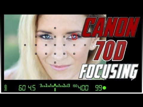 ▶ Canon 70D Focusing Squares Tutorial | How to focus with the Canon 70D Training - YouTube