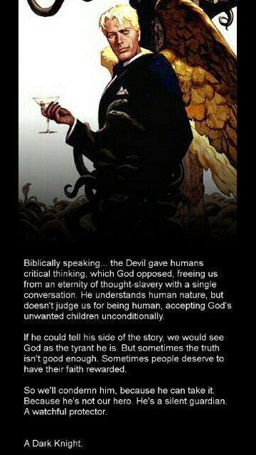 Good Guy Lucifer.