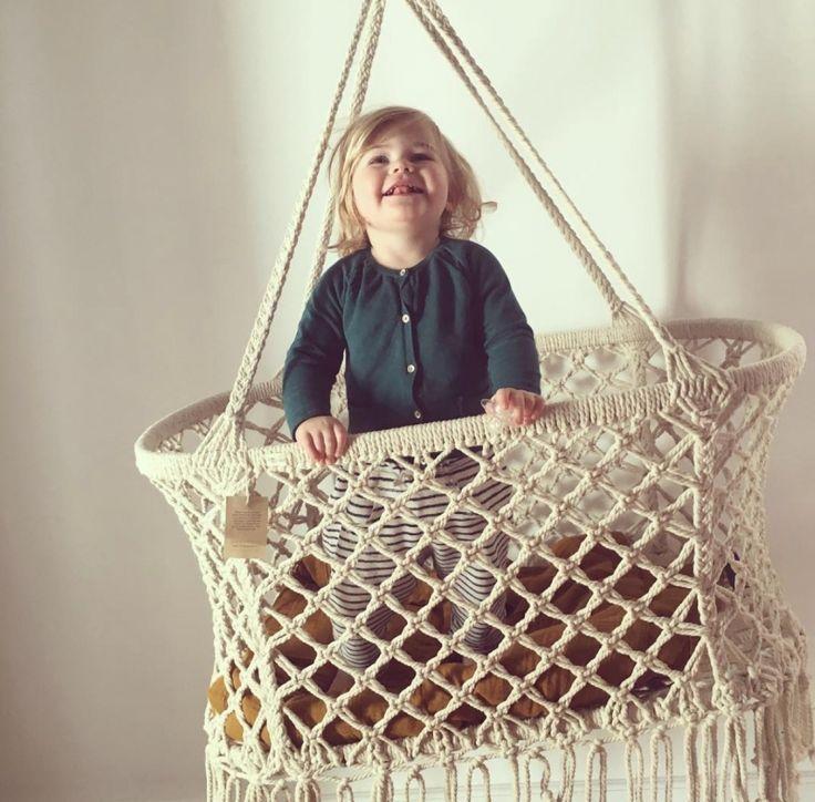 Lullaby Crib - Wit van Little Hedonist bij Grasonderjevoeten.nl