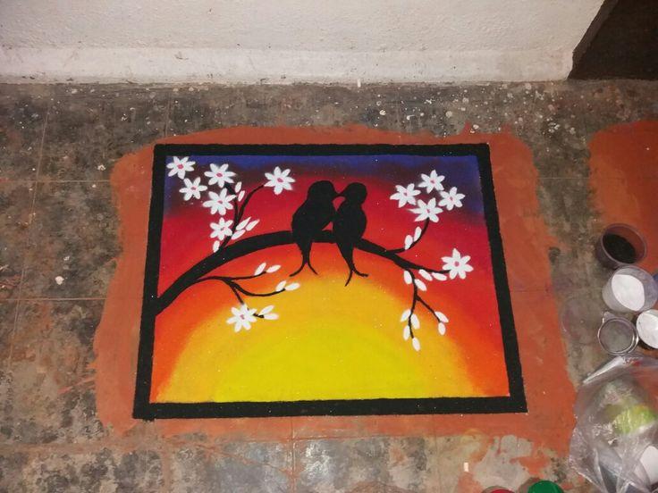 Rangoli. ...made by me (Janvi Sojitra)