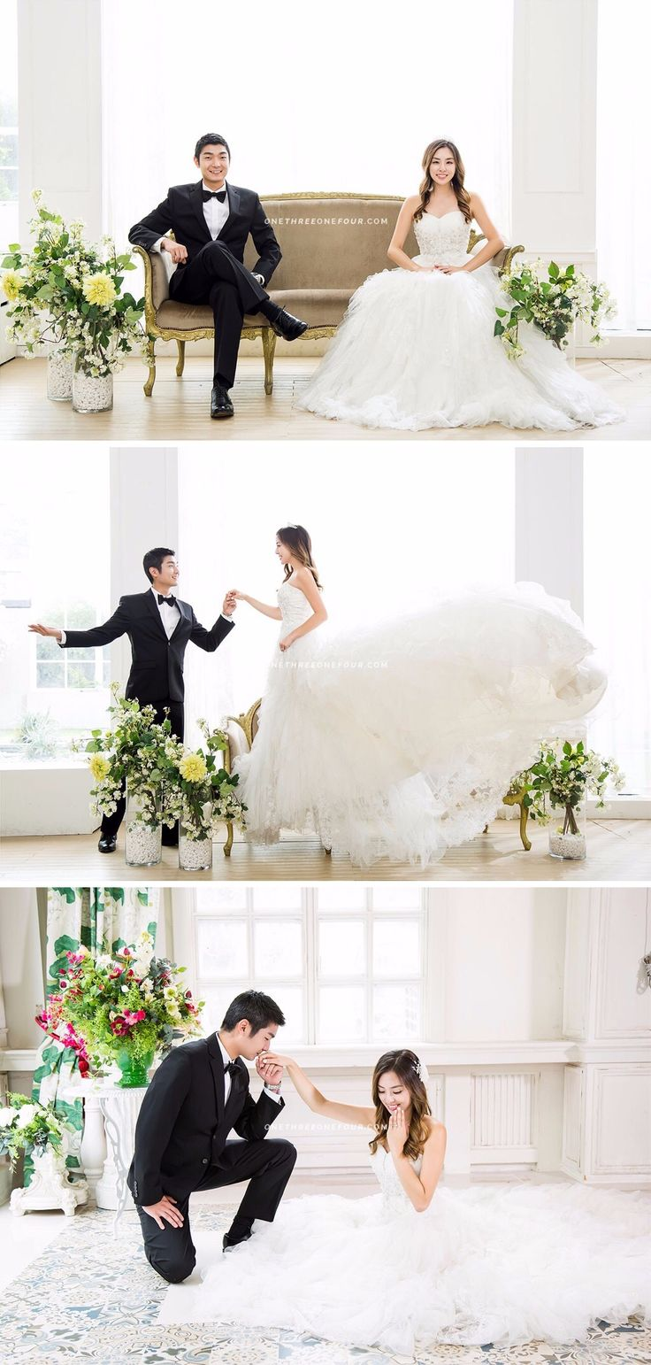 Korean wedding photoshoot with SUM Studio via OneThreeOneFour.com