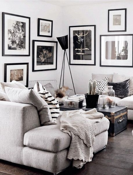 Blogs - Space & Shape | All-white walls can be a bit too white sometimes. Hanging artwork is not the only way to add texture and colour to your walls. Hang your favourite photographs, install mirrors, create your own art gallery, make a statement with letters, and style shelves with books and personal belongings.
