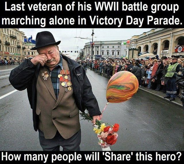 Such a hero so sad he is only left. Y isnt any one helping repost this lovely brave hero