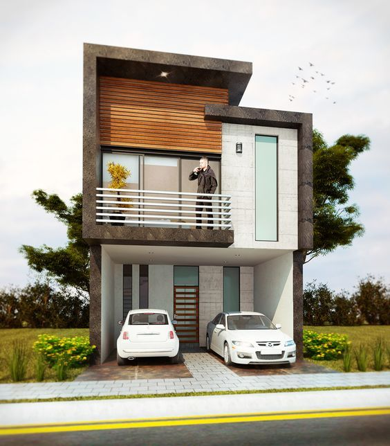 50 Small Two Storey House Designs That Can Be Fitted In Small Lot Area Small House Design Small House Exteriors House Design House design for a small lot