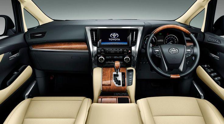 Toyota Alphard 2016 Interior