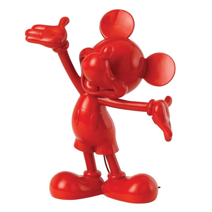 Jim Shore MICKEY MOUSE - RED FIGURINE Enchanting Disney Collection A27154