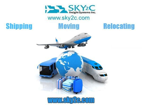 Sky2c Freight system provide international shipping, domestic shipping, freight forwarding, warehousing, trucking, consolidation, door to door delivery & pickup services