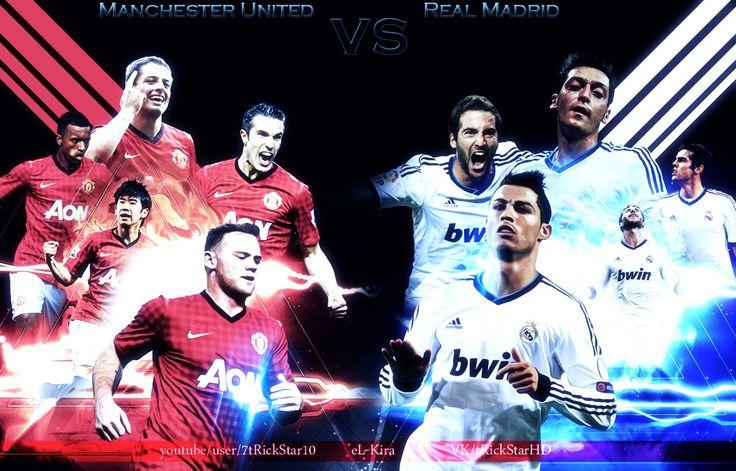 Manchester united vs real madrid champion