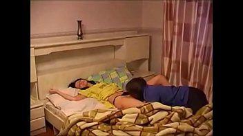 Sleeping sister @ Dino Tube   Toddler bed