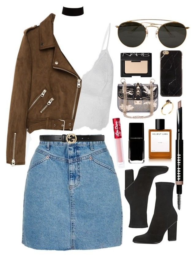 """Ecos de Amor"" by andy993011 ❤ liked on Polyvore featuring Topshop, Alexander Wang, Freebird, Gucci, Bobbi Brown Cosmetics, Ray-Ban, Helmut Lang, Valentino, Katie Rowland and Lime Crime"