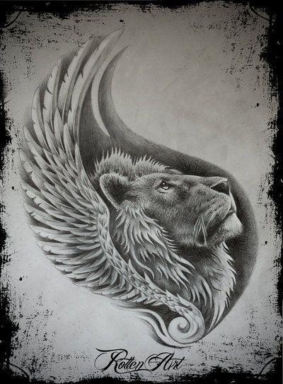 Lion1 by dmrotten