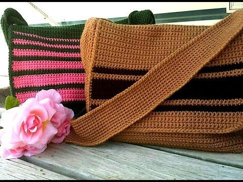 """A Messenger Bag Tutorial has been highly requested...Finally I was able to come up with an easy Design & Pattern...for """"Glama's His & Hers Messenger Bags"""" Th..."""