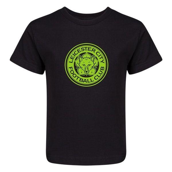 Leicester City FC Junior Youth T-Shirt (Black)