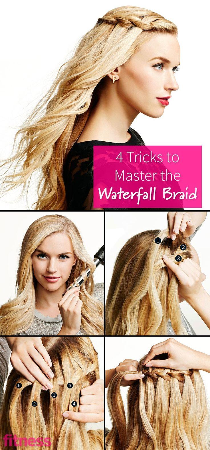 A Step-By-Step Waterfall Braid Tutorial