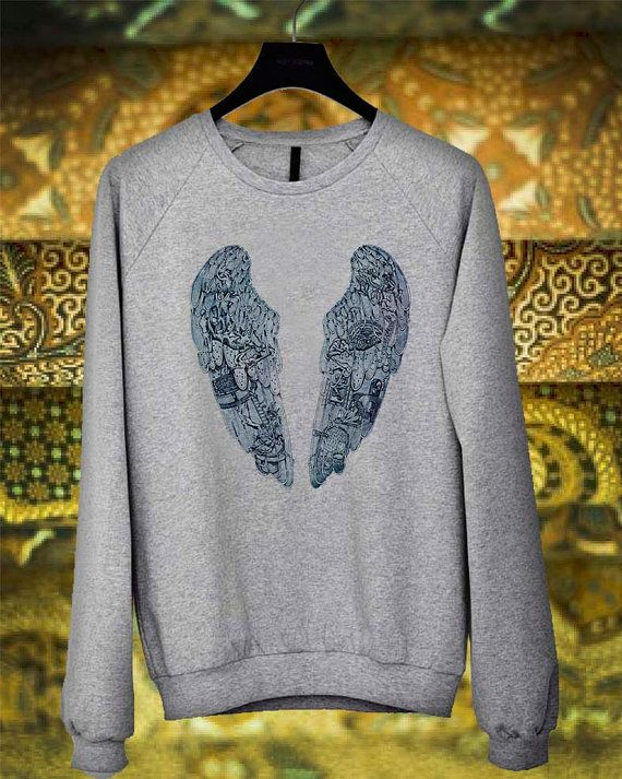Coldplay Ghost Story Bird sweater sweatshirt by introshop1988