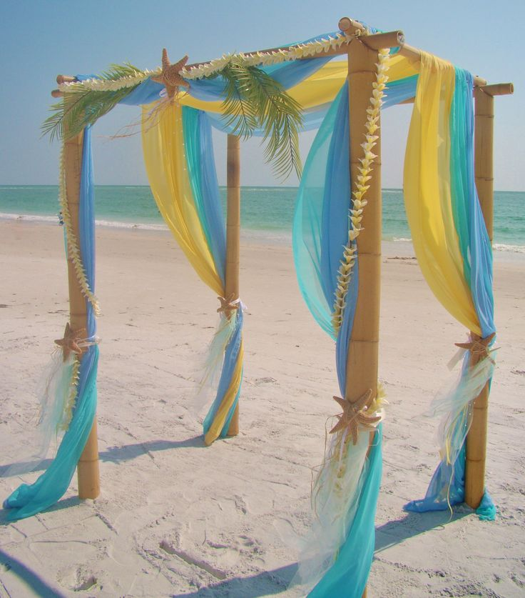 8 best colorful wedding canopies & arches ideas & inspiration