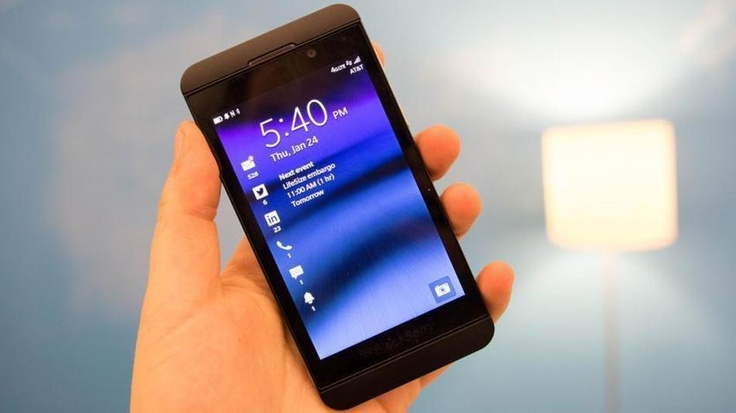 Blackberry's Z10 smartphone -- which could help turn around the struggling company -- is rumored to go on sale at AT stores starting March 22.