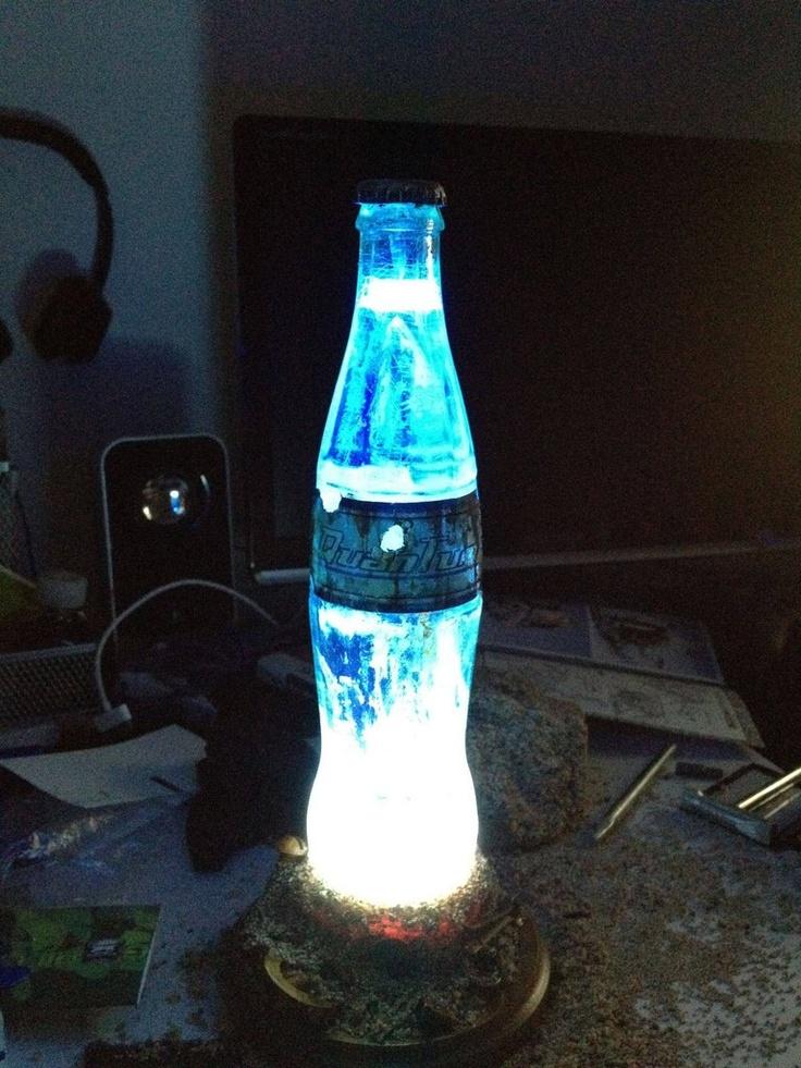 I want this Nuka Cola Quantum bottle lamp something fierce.