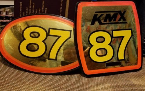 Decals Stickers 106953: Bmx Number Plates -> BUY IT NOW ONLY: $45 on eBay!