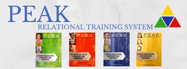 PEAK: Relational Training System | ABA Therapy for Persons  with Autism and Related Disabilities