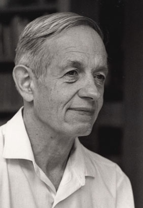 John Forbes Nash, Jr. (1928 - ) is an American mathematician whose works in game theory, differential geometry, and partial differential equations have provided insight into the forces that govern chance and events inside complex systems in daily life.   He shared the 1994 Nobel Memorial Prize in Economic Sciences with game theorists Reinhard Selten and John Harsanyi.