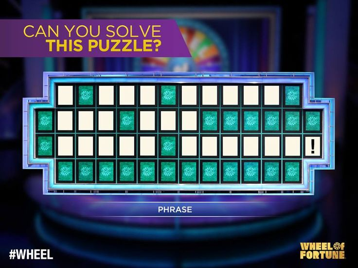 Wheel Of Fortune Bonus Puzzle Answer For Today (Daily
