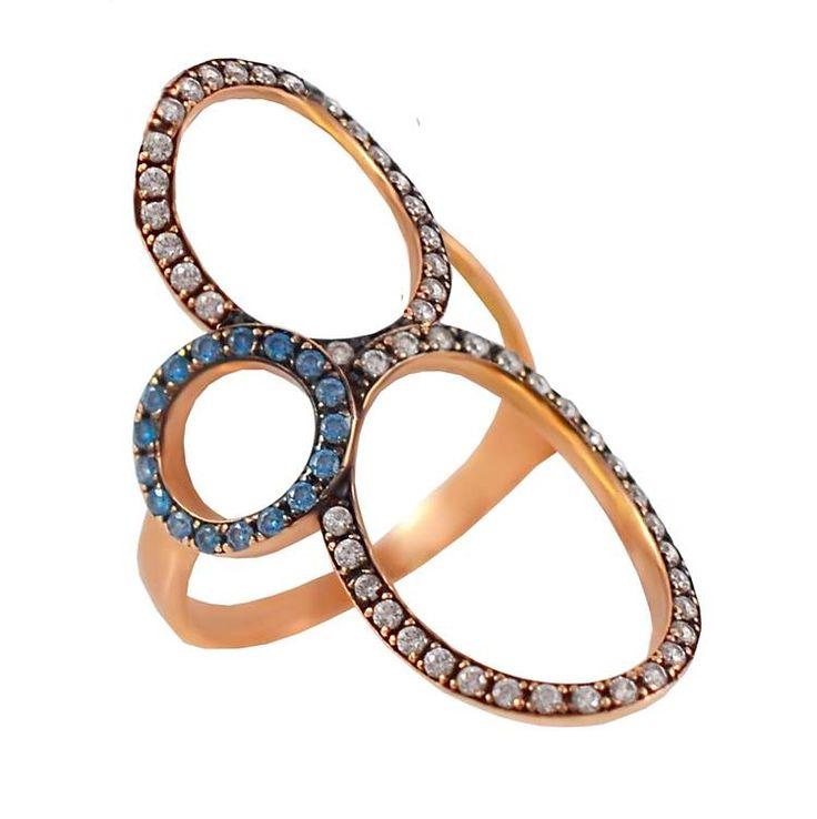 Δ596P -Χρυσό δαχτυλίδι