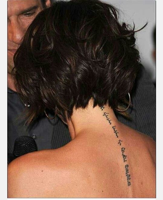 Love How The Back Of This Cut Looks Hair Amp Beauty Ideas