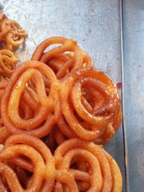 Jilapi - very popular Bangladeshi food.