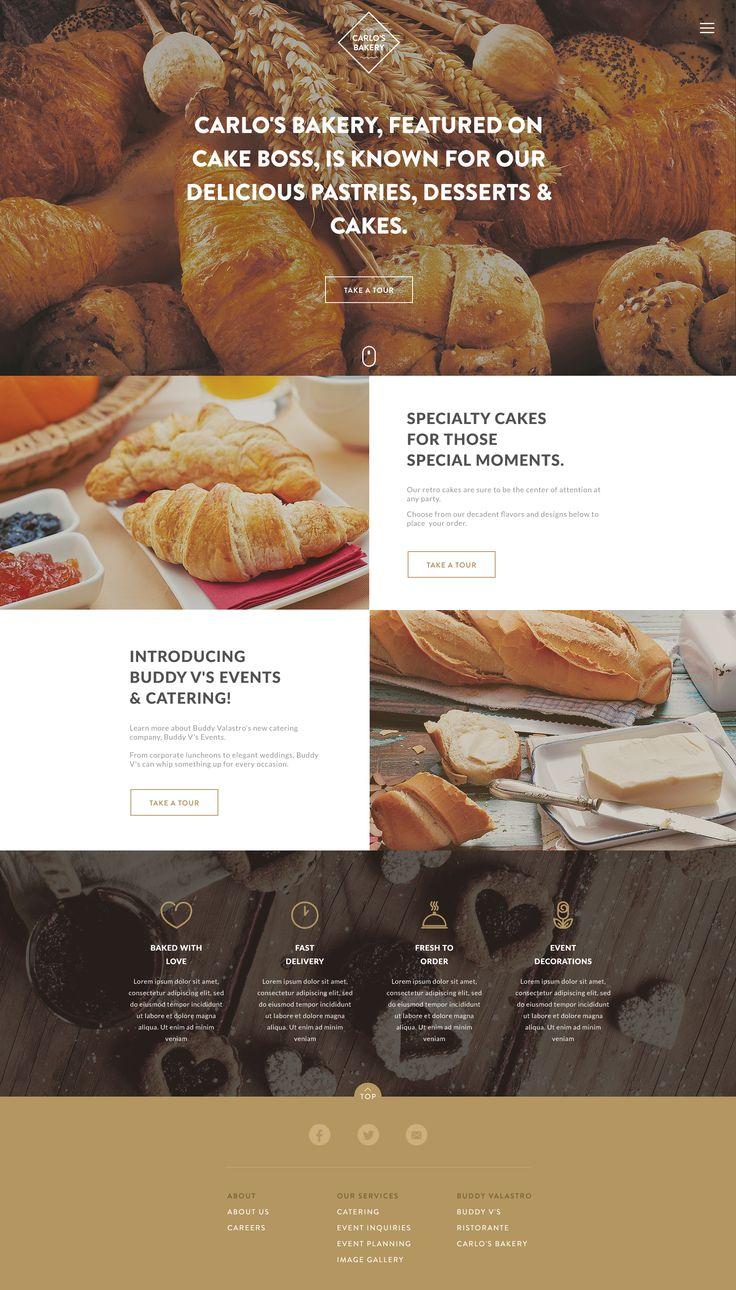 Best Website Bakery Images On Pinterest Bakery Website