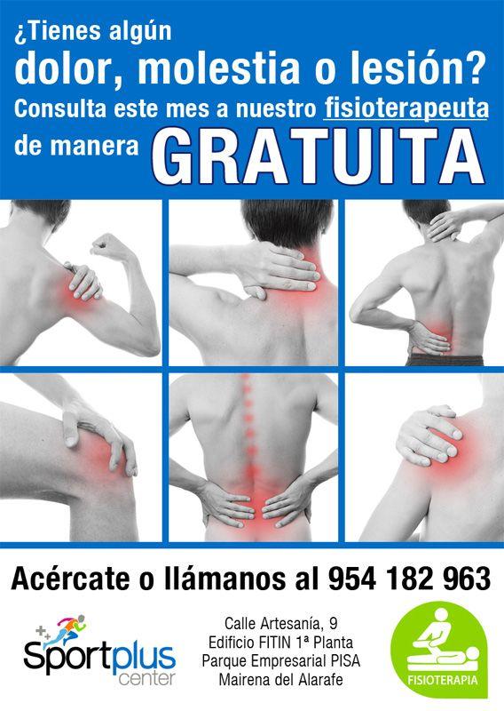 Consúlta cualquier dolor, molestia o lesión que tengas. ¡Llámanos al 954 182 963!