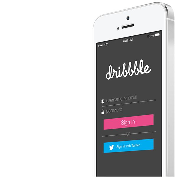Dribbble App Concept for iOS. on Behance