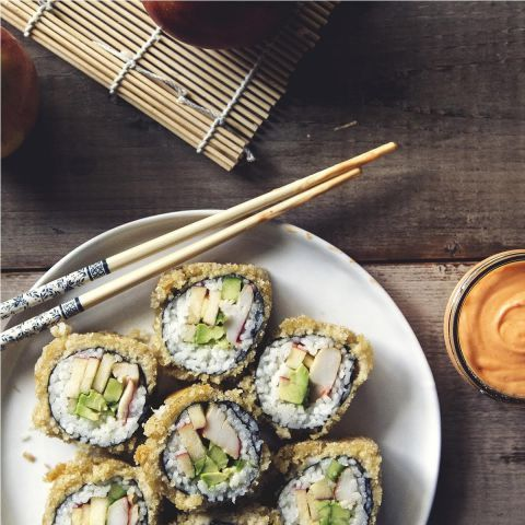Happy California Roll to make at home! #SushiSaturday Try out the recipe and let us know what you think!