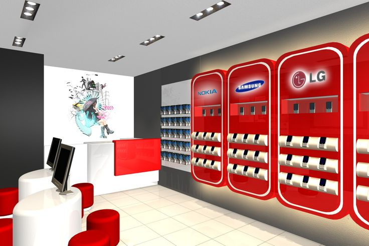 Image result for mobile phone store design
