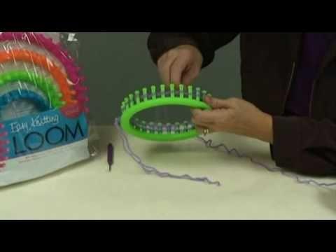 Darice Knitting Loom - YouTube