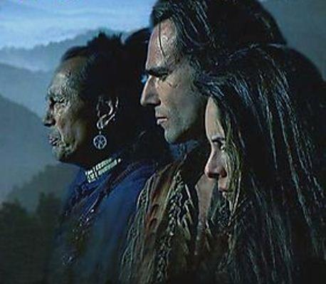 """Na tela, """"O último dos moicanos"""", """"Gerônimo- uma lenda americana"""", """"A missão"""" e """"Crepúsculo de uma raça""""."""
