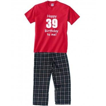 Birthday Pajamas for Mom - Happy Birthday to Me!