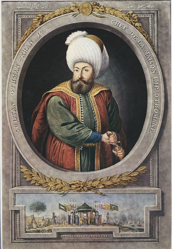 Osman I Gazi (Reigned from 1281 - 1323) as the first sultan of the Ottoman Empire. He is the one to become the first ruler of the Rise of the Ottoman Empire. He became an independent sovereign in his time.