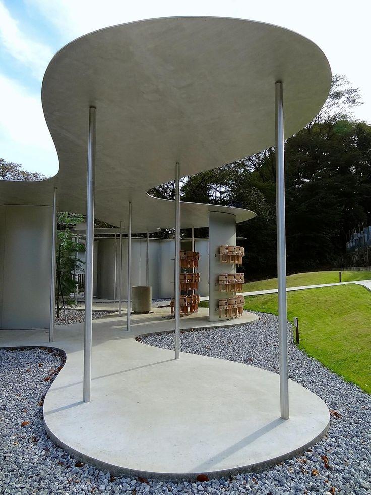 "Kazuyo Sejima /// Sonei-ji Cemetery Pavilion ""Muyuju-rin"" @ Ichikawa, Japon"