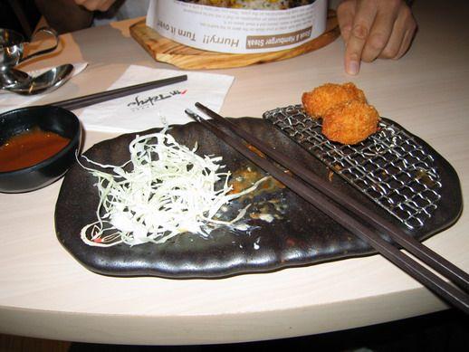 Japán étteremben
