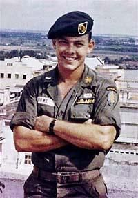 """COL James """"Nick"""" Rowe, Special Forces Officer, West Point Grad, POW in North Vietnam for 5 years prior to his successful escape, assassinated by Philippine terrorists in 1989, born and raised in McAllen, TX."""