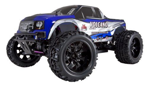 Back in stock Redcat Racing Volcano EPX Electric Truck, Blue/Silver, 1/10 Scale